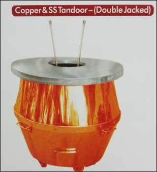 Copper And Ss Tandoor (Double Jacked)