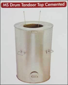 Mild Steel Drum Tandoor Top Cemented