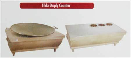 Tikki Display Counter (Steel)