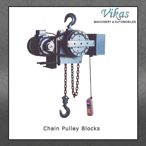 Chain Pulley Blocks in  Gondal Road