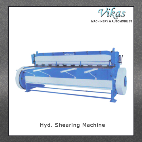 Hyd. Shearing Machine