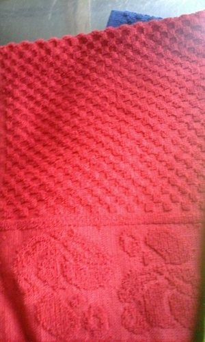 Single Color Plain Towel in  Fort
