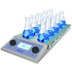 Multi Station Magnetic Stirrer With Heater