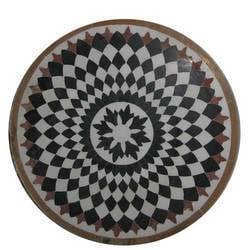 Marble Inlay Tabletop