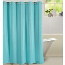 Blue Blaze Shower Curtain
