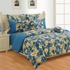 Colors Of Life Bed Sheet (Attractive Color)