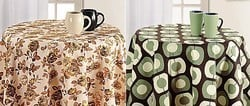 Printed Round Table Linen