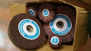Abrasive Flap Wheels And Mops