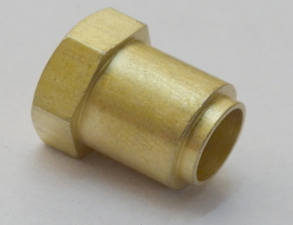 Durable Brass Hex Pipe Inserts in   Dared