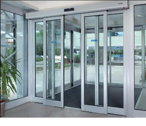 Automatic Sliding And Swing Door