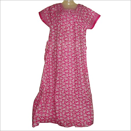 Cotton Ladies Night Gowns in  Old Mahavir Nagar