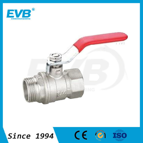 """BT1001 Brass Ball Valve PN30 1/4""""-4"""" For Gas And Water"""