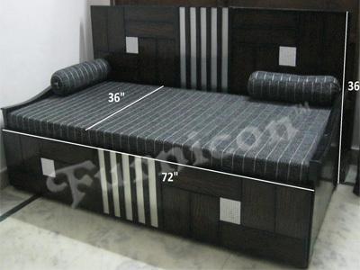 Wooden Sofa Cum Bed In Kolkata West Bengal Furnicon