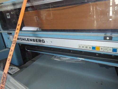 Wholenberg Cutting machines