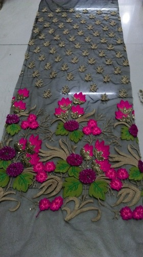 Embroidery Ladies Anarkali Dress Fabric in  Ring Road