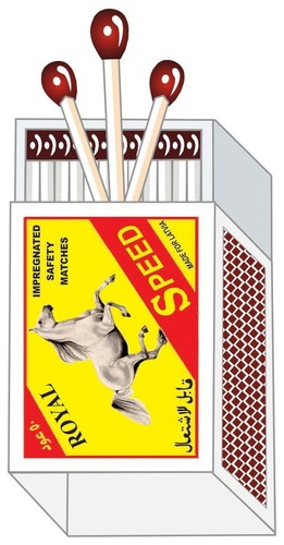 Royal Speed Safety Matches