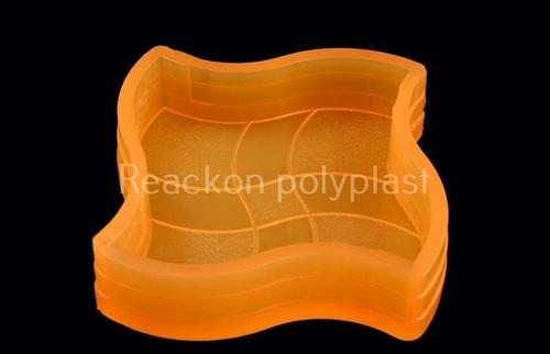 Wave PVC Rubber Mould - Interlocking Pavers