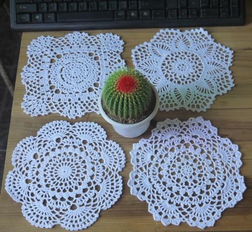 Crochet Coasters Designs