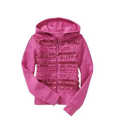 Stylish Girls Hooded Top