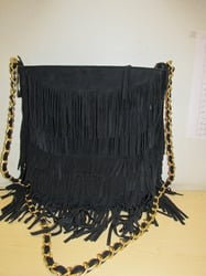 Leather Fringed Bags