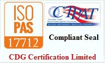 Iso Pas 17712 Certification For Mechanical Seal