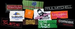 Embroidered Woven Labels