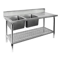 Double Sink With Table