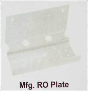 Mfg. RO Plate