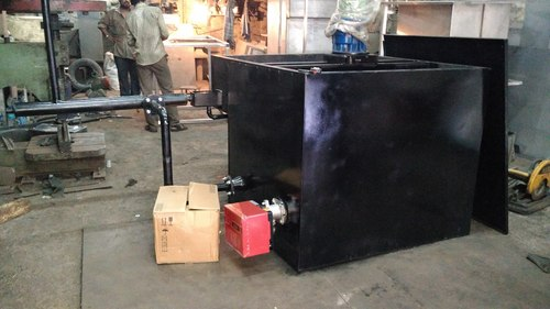 Mig Wire Coating Machine With Gas Burner