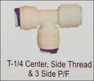 T-1/4 Center, Side Thread and 3 Side P/F