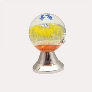 Gorgeous Railing Glass Ball with LED Light