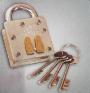 Cid Pad Lock (Brass Body)
