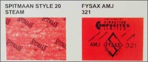 Spitmaan Style 20 Steam and Fysax AMJ 32 ASbestos Jointing Rubber Sheet