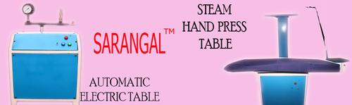 Steam Hand Press Table
