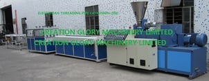 Good Performance PVC Electrician Threading Pipe Plastic Extrusion Machine