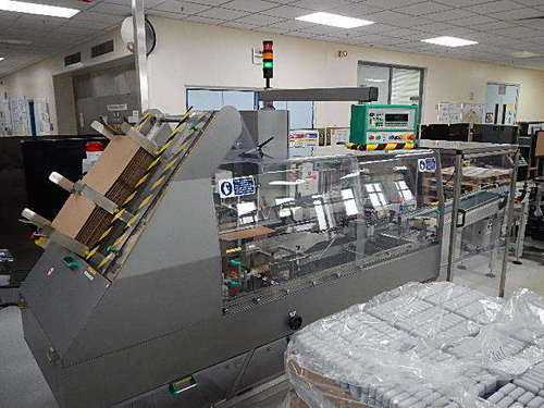Marchesini Ps510 Case Packer Machine in   Flint