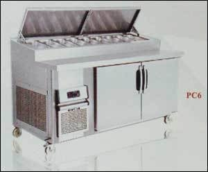 Refrigerated Pizza Preparation Counter