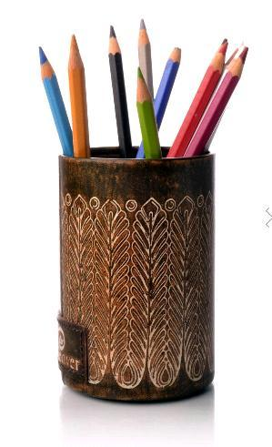 Attractive Design Pen Stand Round