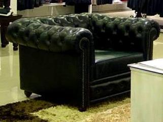 Leather Chester Fill Sofa