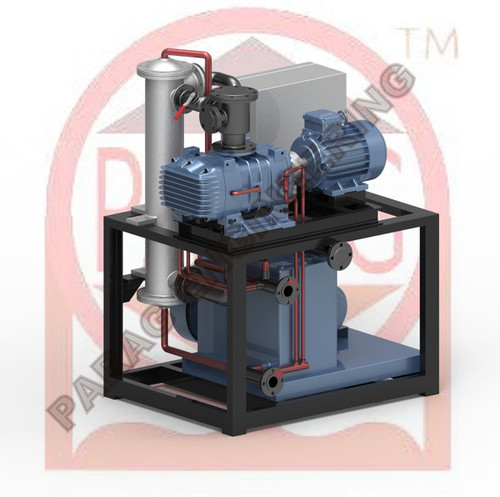 Mechanical High Vacuum Booster System