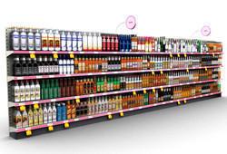 Retail Store Shelves