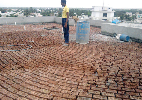 Brick Bat Coba Waterproofing Service Ma Ops Old Chandan Steel Near Arunodaya Ceramics G I D C Taluka Umbergaon Dist