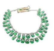 Emerald Briolettes Plain