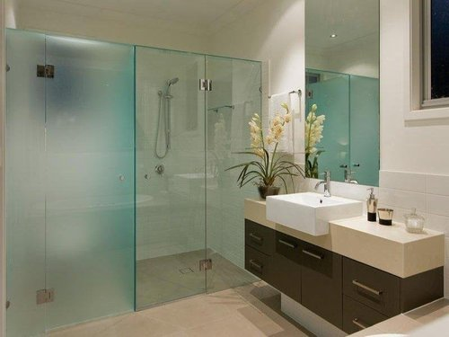 Affordable Bathroom Partition Glass In Vadodara Gujarat Laxmi Impressive Bathroom Partition