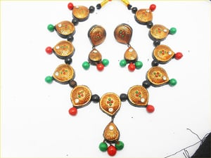 Terracotta Handcrafted Necklace