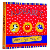 Alphabet Puzzle And Book Kit