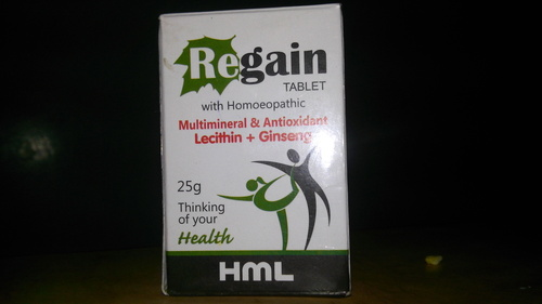 Regain Mutimineral And Antioxidant Homoepathic Tablet