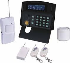 Gsm Intrusion Alarm Systems
