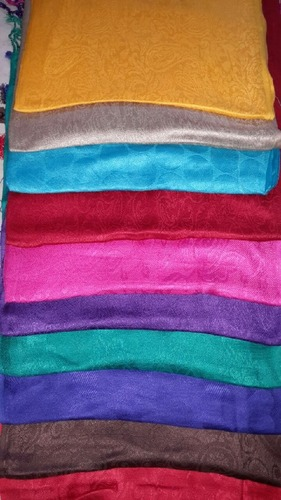 Viscose Self Jacquard Stoles in  Barabanki