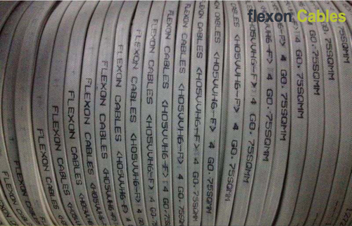 Elevator Travelling Cable : Flexon flat elevator traveling cable in mumbai